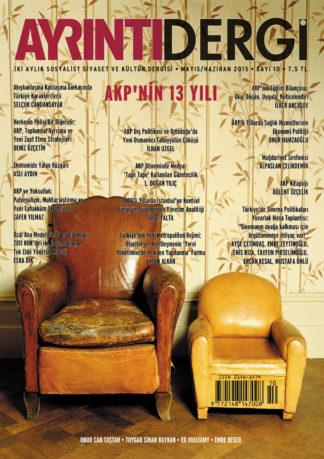 Ayrıntı Dergi Sayı: 10 (Mayıs-Haziran 2015)